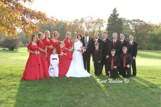 Formal Wedding Portrait Photographer in Toledo