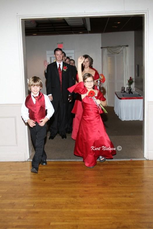 Junior Bridesmaid and Groomsmen