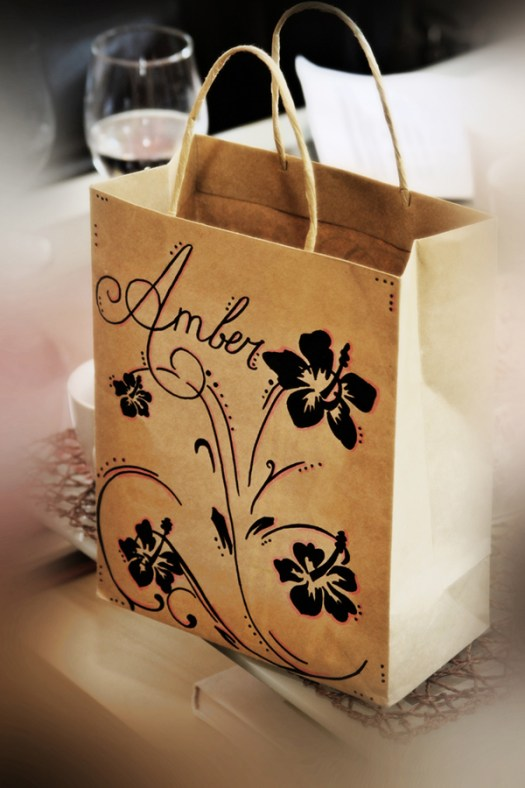 Wedding Gift bag for bride