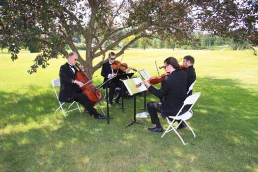 wedding quartet