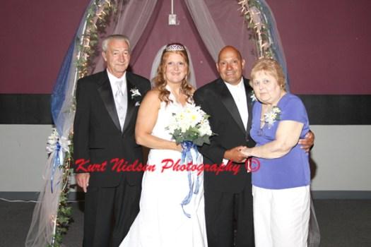 bride's family photos
