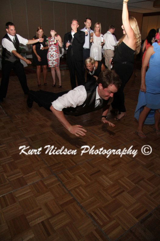 getting down on the dance floor
