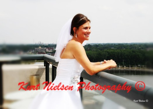 Maumee River Wedding View