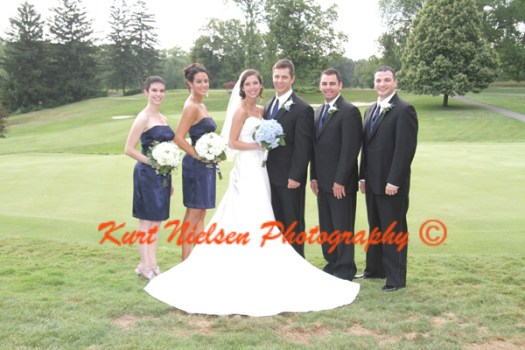 Formal Bridal Party Photos
