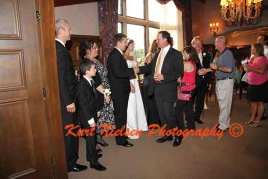 receiving line for weddings