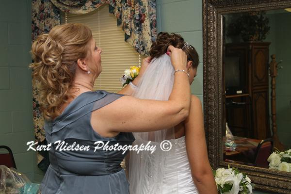 long bride veil