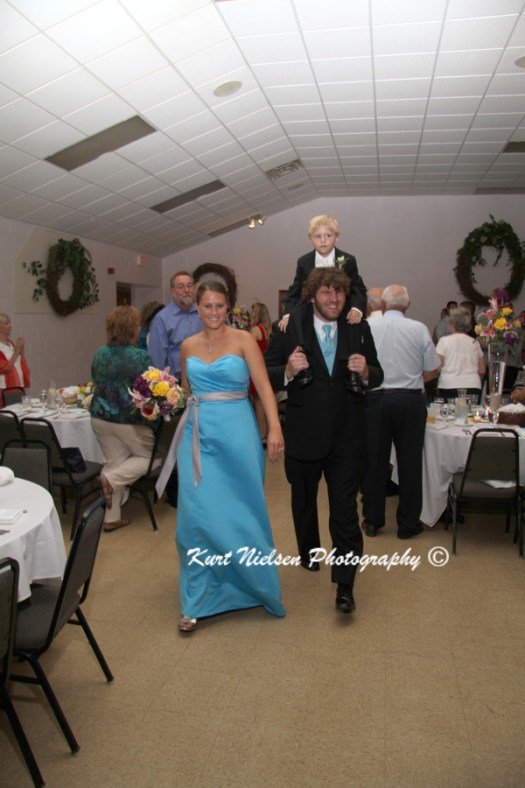 grand entrance ideas for ring bearer
