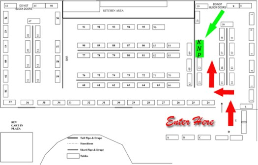 Fall Bridal Show Floor Plan