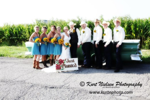 Country Chic Wedding Toledo