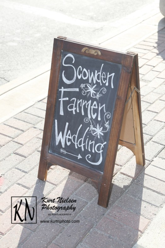 chalkboard signs for wedding