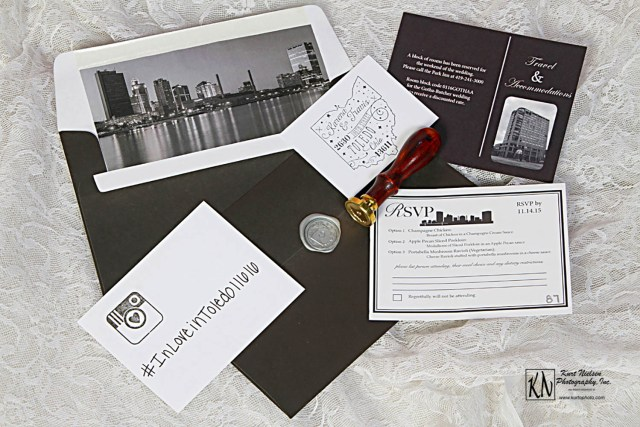wedding invitations photographed by Kurt Nielsen Photography