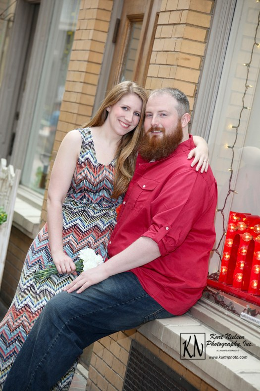 Ann Arbor Engagement Photography - Brandi and Darrell