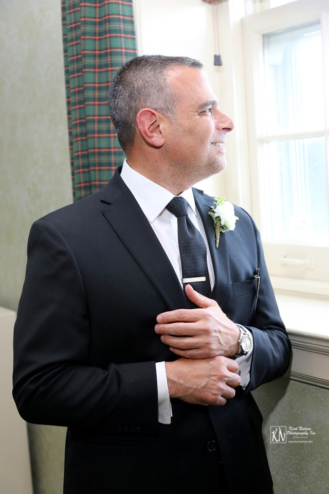 don't forget about the groom