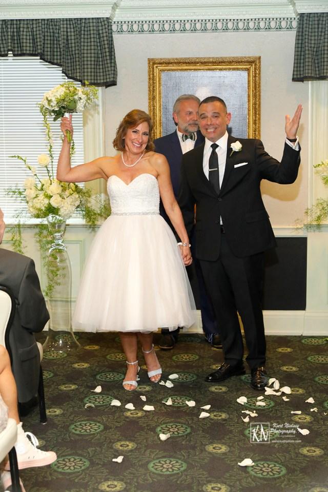 wedding ceremonies at the Toledo Club