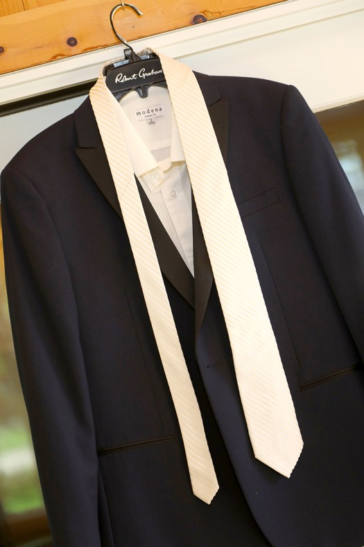 Ticknors Men's Clothier Navy Blue Tuxedo