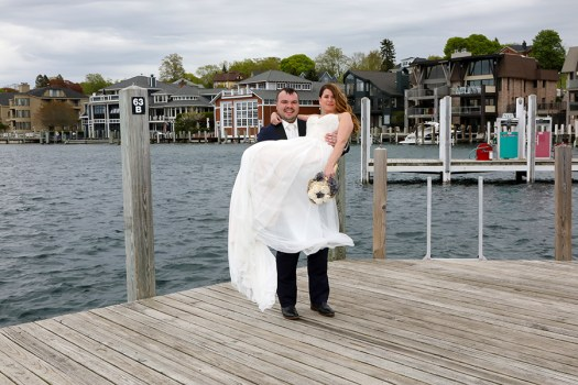 Charlevoix Marina Wedding Photos