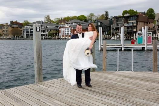 Charlevoix Marina Wedding Photos