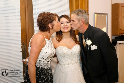 parents of the bride love