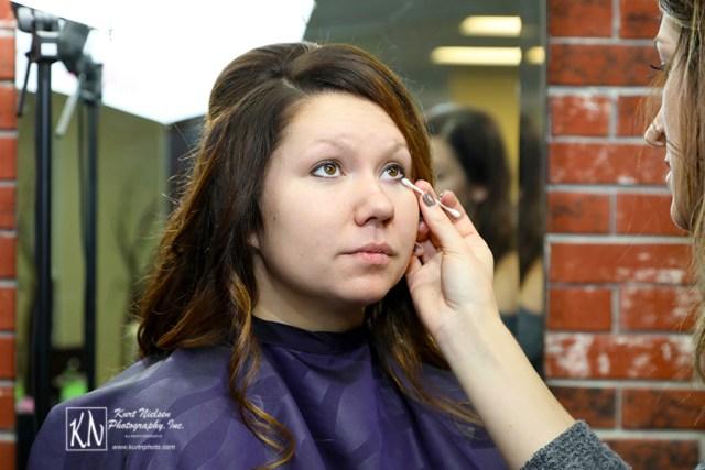bridal makeup at Crimson Renee Salon in Oregon