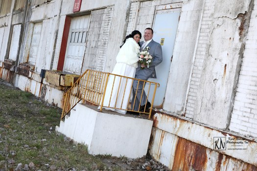downtown toledo wedding photos