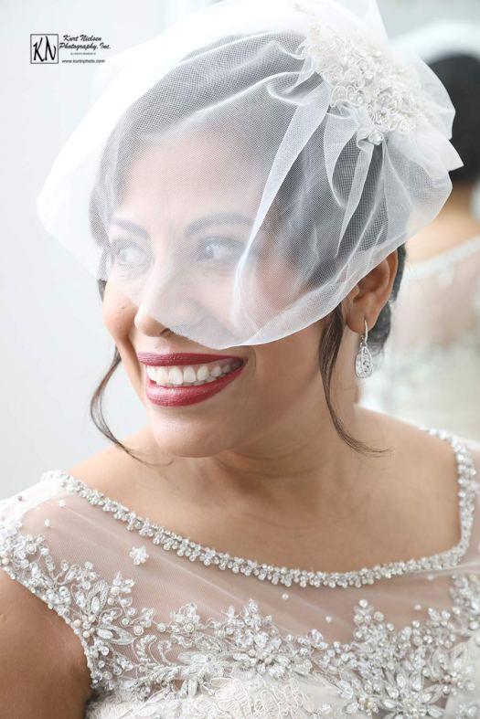 Happy Bride at the Toledo Club by Wedding Photographer Kurt Nielsen Photography