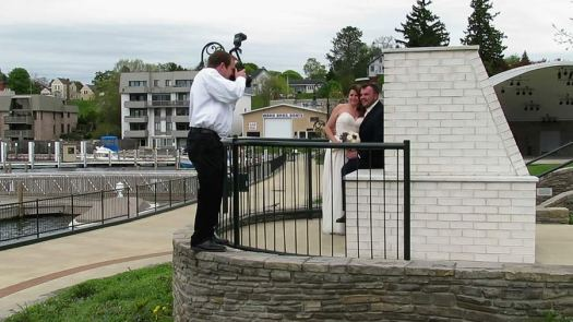 behind the scenes with Toledo Wedding Photographer Kurt Nielsen Photography