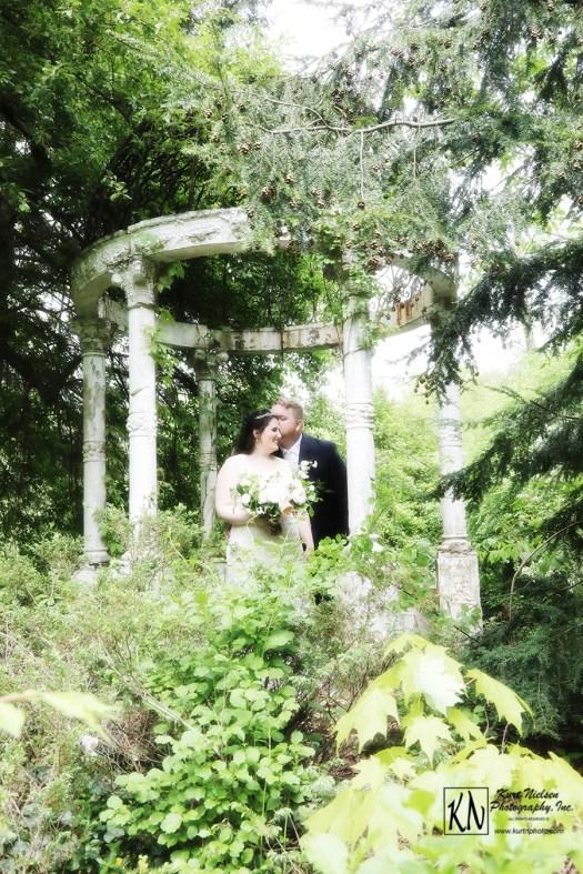hidden garden gazebo