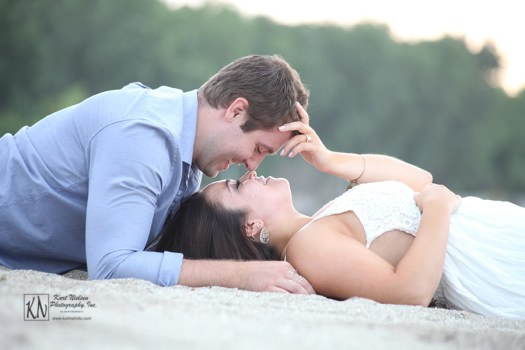 local engagement photographers in the Toledo area