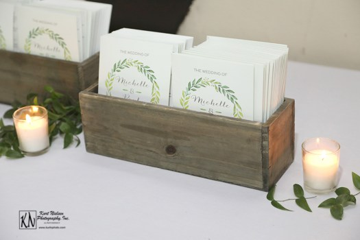 garden wedding programs from shutterfly