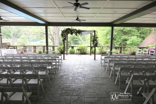 custom chuppah from Molly Taylor and Co for The Club at Hillbrook