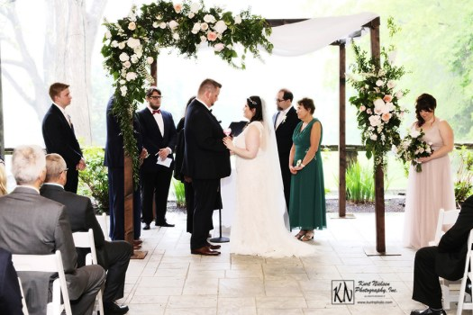 vows for a jewish wedding at the club at hillbrook