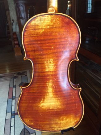Violin, 2005 back