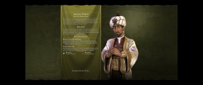 A synopsis of the Arabian Empire, as shown at the beginning of a game.