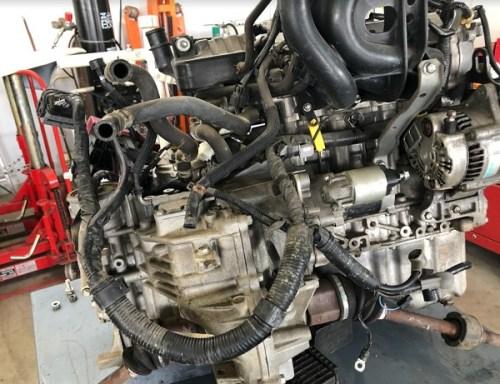 K6Aエンジン載せ替え