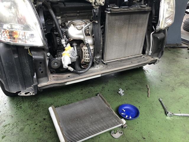 エアコン修理 コンプレッサー・コンデンサー交換