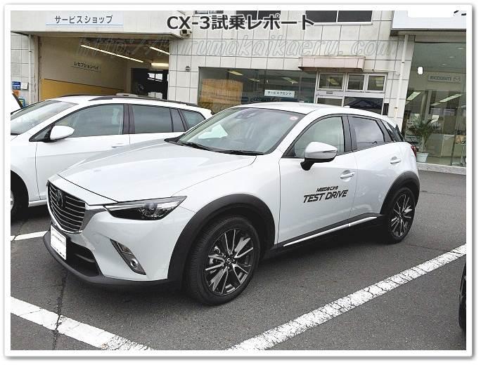 CX3白ホワイト