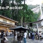 那智の滝の前にある飛瀧神社(ひろうじんじゃ)