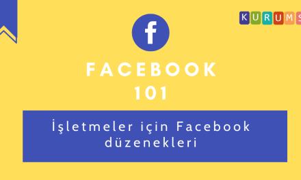 İşletmeler için Facebook düzenekleri