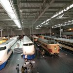 Melihat Koleksi Kereta di Railway Park Nagoya