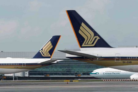 singapore airline loss due to covid-19