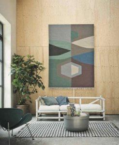karpet hiasan dinding