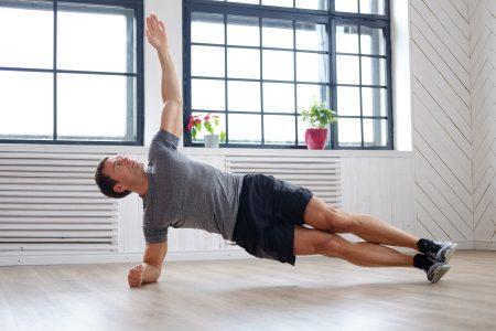 plank olahraga di rumah