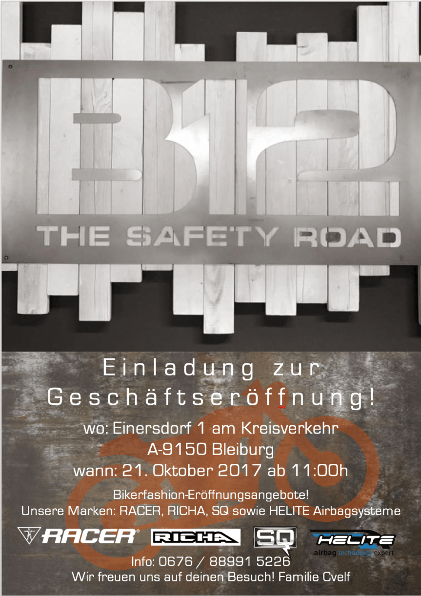 ERÖFFNUNG B12 – The Safety Road