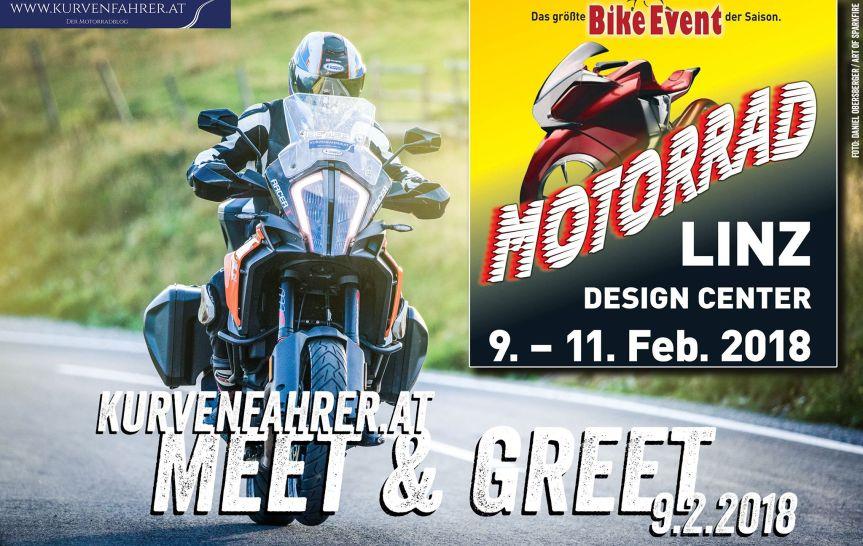 Meet & Greet auf der Bike Linz