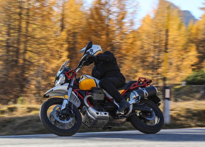 MOTO GUZZI V85 TT ist in Produktion