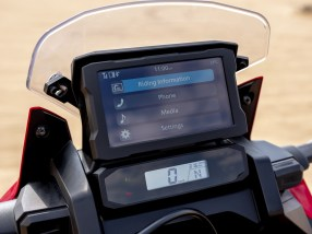 20YM Africa Twin Meter