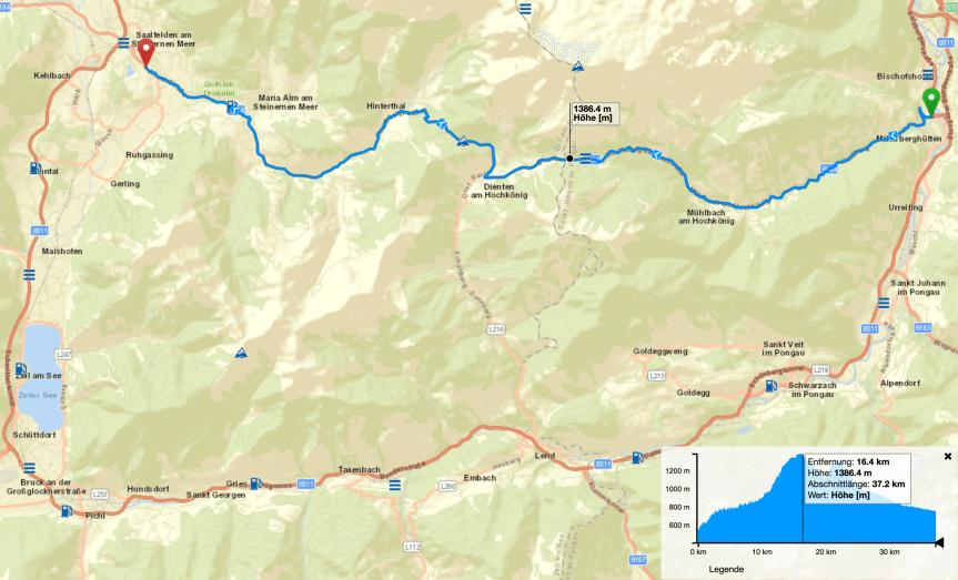 Routentipp: Hochkönig (Salzburg)