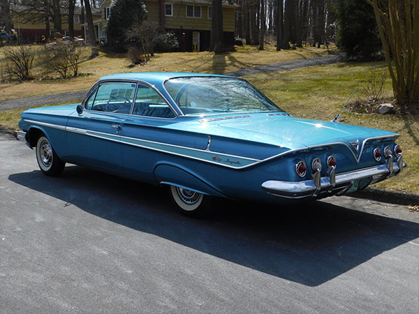 1961 Chevrolet Impala     Kurzmann Auto Brokerage All new rubber molding throughout the car  the glass is original and in  excellent condition   Exterior chrome was either re plated or replaced