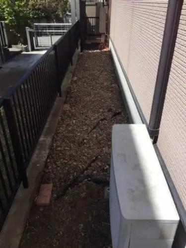 雑草を駆除するとエアコンの効きが向上する