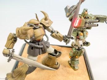 HGUC Gouf RG Full Armor Gundam